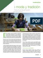 Priscilla Robles, tejiendo moda y tradición