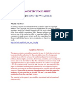Magnetic Pole Shift and Chaotic Weather