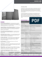 Silencio S400 Product Sheet