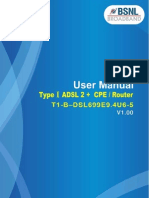 User Manual (T1-B-DSL699E9.4U6-5)