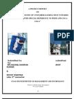 A PROJECT REPORT PEPSI VS COCA COLA