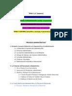 PROCESO ADMINISTRATIVO PROGRAMA 2020