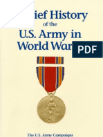 A Brief History of the U.S. Army in World War II