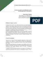 Para uma pedagogia da educação pré-escolar - fundamentos e conceitos - Maria João Cardona