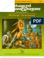 TSR 9183 - RS1 - Red Sonja Unconquered