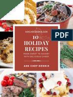 Chef Dennis - 10 Holiday Recipes eBook