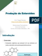 10 - Produção de Esteroides