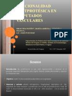 Vida Patiño, M.- Funcionalidad post protésica en amputados vasculares