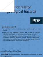 other related geological hazards