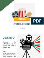 PPT Crítica de Cine 7º Lenguaje actividades 22 al 26 de junio
