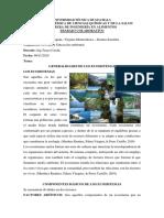 Generalidades de Ecosistema 9 de Noviembre