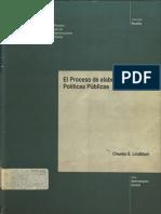 El proceso de elaboración de políticas públicas