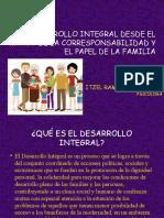 DESARROLLO INTEGRAL DESDE EL MARCO DE LA CORRESPONSABILIDAD