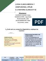 SEMANA 2 HISTORIA CLINICA N° 02