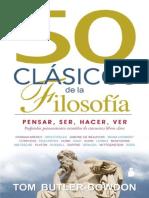 50 clasicos de la Filosofia - Tom Butler-Bowdon