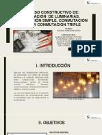 Proceso Constructivo - Conmutaciones