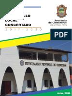 PLAN DE DESARROLLO CONCERTADO DE CHINCHEROS