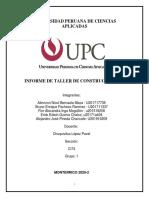 Informe Taller de Construccion_2_CI74_GRUPO1.pdf