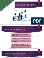 MODELOS DE NEGOCIOS Y SUS TIPOS