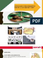 REGIMEN DISCILINARIO- LEY SERVIR (3) (3)