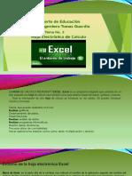 Hoja Electrónica de Cálculo Excel