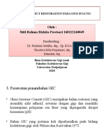 Direct Dan Indirect Restoration Pada Gigi Sulung