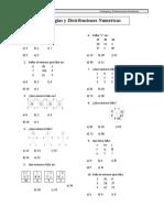 analogias y distribuciones matematicas