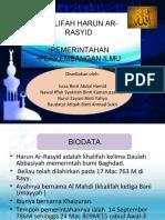 khalifah harun ar rasyid(pemerintahan)