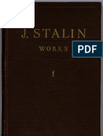 Stalin Collected Works 1