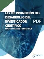Ley de Promoción del Desarrollo del Investigador Científico