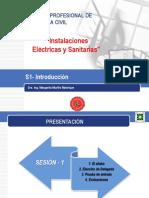 S1- Instalaciones Electricas y Sanitarias