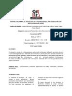 Reporte Número 11 Obtención de Ciclohexanona Por Oxidación Con Hipoclorito de Sodio