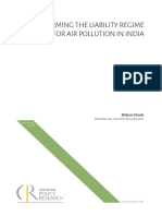 Shibani Ghosh_Reforming the liability regime for air pollution in India_WPDEC2015