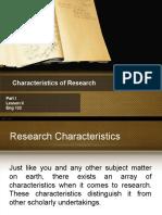 2 Characterstics, Processes, And Ethics