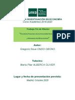 El sistema financiero de la CEMAC