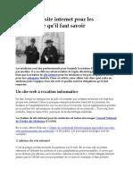 Création de site internet pour les médecins