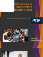 Metodologie de monitorizare a   segregarii scolare 20 23 ian 2020
