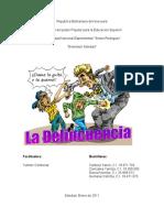 EL FENOMENO DE LA DELINCUENCIA