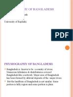 PHYSIOGRAPHY OF BANGLADESH.