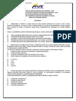 ATIVIDADE I - ESPORTES COLETIVOS I (FUTEBOL E FUTSAL)