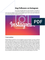 Tips for Getting Followers on Instagram