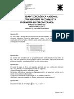 ANALISIS MATEMÁTICO I - Trabajo Práctico Nº 7 - INTEGRALES DEFINIDAS - 2020