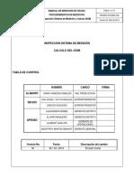 PRDMED-PRCMED-008 INSPECCIÓN SISTEMA DE MEDICIÓN Y CALCULO IGSM