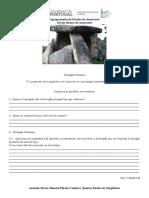 F - Neolítico 2 - Megalitismo