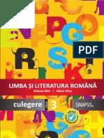 Culegere limba romana