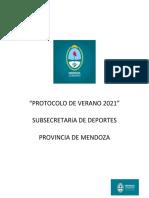 Protocolo de escuelas de verano 2021