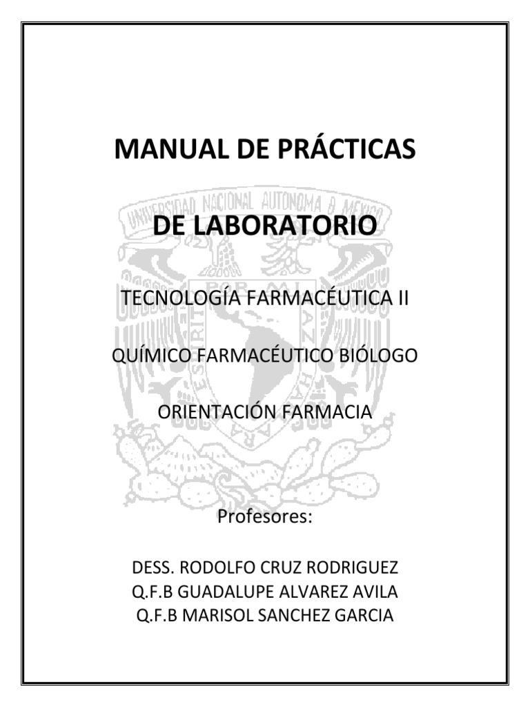 MANUAL DE LABORATORIO 2011