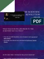 The Scientific Revolution 2020-2