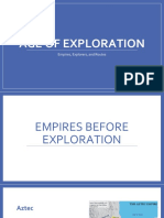 Age of Exploration-empires and routes slides