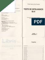 Teste de Inteligenta IQ 6 - Ken Russell, Philip Carter